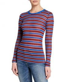 Rag and Bone Avery Stripe Top at Last Call
