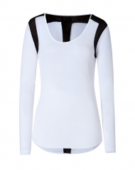 Rag and Bone Baltic Tee in White at Stylebop