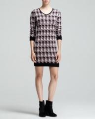 Rag and Bone Mariah Printed Sweater Dress at Neiman Marcus