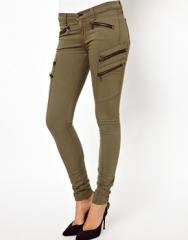 Rag and BoneJEAN  Rag and BoneJean Lariat Skinny Jeans With Zips at Asos