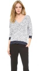 Rag andamp Bone Dionne V Neck Sweater at Shopbop