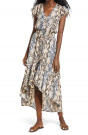 Raga Viper Print High Low Dress   Nordstrom at Nordstrom