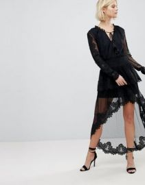 Rahi Cali Lace High Low Dress at asos com at Asos
