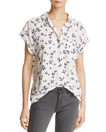 Rails Chase Butterfly Shirt x at Bloomingdales