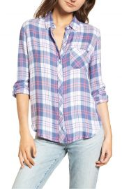 Rails Hunter Shirt in Watermelon Coast White at Nordstrom