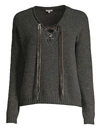 Rails - Amelia Lace-Up Sweater at Saks Fifth Avenue