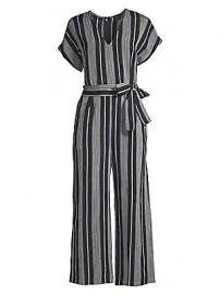 Rails - Angela Cropped Stripe Tie Jumpsuit at Saks Fifth Avenue