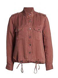 Rails - Collins Drawstring Linen-Blend Jacket at Saks Fifth Avenue