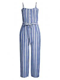 Rails - Harper Striped Cropped Jumpsuit at Saks Fifth Avenue