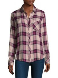 Rails - Hunter Plaid Button-Down Shirt at Saks Fifth Avenue