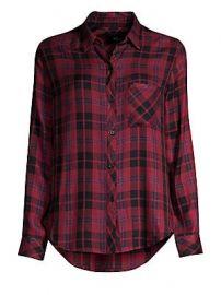 Rails - Hunter Plaid Pocket Button-Down Shirt at Saks Fifth Avenue