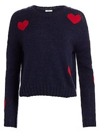Rails - Perci Wool-Blend Heart Sweater at Saks Fifth Avenue