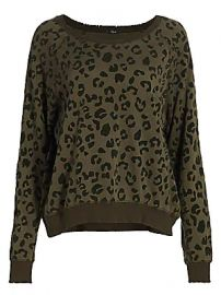 Rails - Theo Leopard Print Sweatshirt at Saks Fifth Avenue