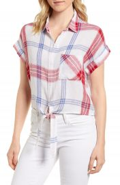 Rails Amelie Tie Front Shirt at Nordstrom