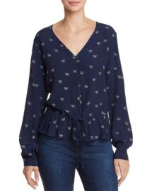 Rails Beaux Butterfly Print Top  Women - Bloomingdale s at Bloomingdales