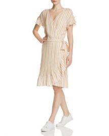 Rails Brigitte Striped Ruffle Wrap Dress Women - Bloomingdale s at Bloomingdales