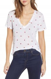 Rails Cara Heart Print Tee   Nordstrom at Nordstrom