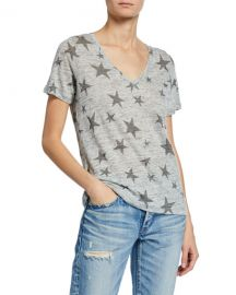 Rails Cara Star V-Neck Short-Sleeve T-Shirt at Neiman Marcus