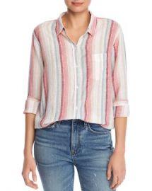 Rails Charli Metallic Striped Shirt  Women - Bloomingdale s at Bloomingdales