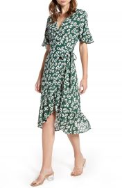 Rails Florence Daisy Print Wrap Dress   Nordstrom at Nordstrom