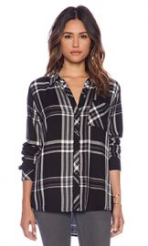 Rails Hunter Button Down in Black  amp  White  amp  Gray from Revolve com at Revolve