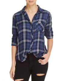 Rails Hunter Metallic Plaid Shirt Women - Bloomingdale s at Bloomingdales