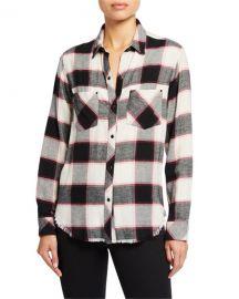 Rails Leo Plaid Pocket Shirt at Neiman Marcus