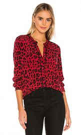 Rails Lillian Button Down in Red Leopard from Revolve com at Revolve
