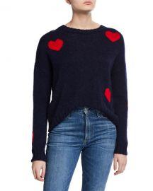 Rails Perci Hearts Sweater at Neiman Marcus