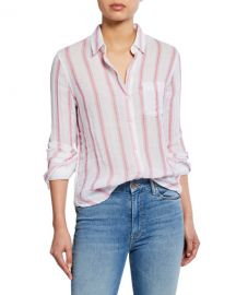 Rails Reagan Striped Button-Down Cotton Shirt at Neiman Marcus