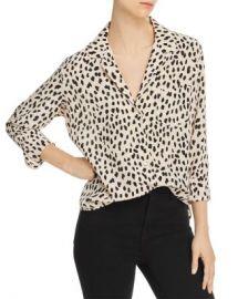 Rails Rebel Cheetah Print Silk Shirt  Women - Bloomingdale s at Bloomingdales