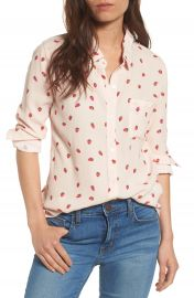 Rails Rocsi Strawberry Print Shirt at Nordstrom