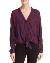 Rails Sloane Striped Tie-Front Top Women - Bloomingdale s at Bloomingdales