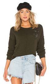 Rails Stafford Sweater in Olive from Revolve com at Revolve
