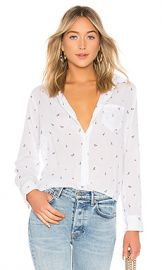 Rails Taylor Button Down Shirt in Little Paris from Revolve com at Revolve