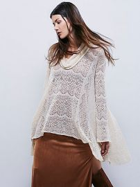 Rain Fall Cowl Neck Pullover at Free People