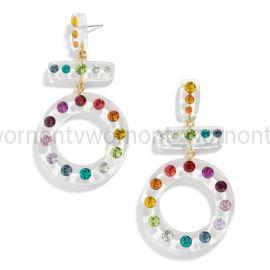 Rainbow Drop Earrings by Baublebar at Baublebar