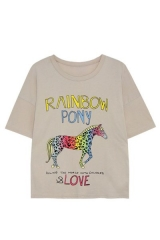 Rainbow Pony Tee at H&M