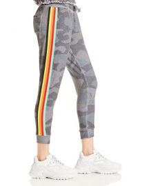 Rainbow-Stripe Camo Jogger Pants at Bloomingdales