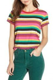 Rainbow Stripe Tee by Pam & Gela at Nordstrom Rack