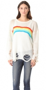 Rainbow sweater like Maggies at Shopbop