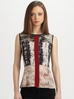 Rally tank by Patterson J Kincaid at Saks Fifth Avenue
