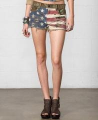 Ralph Lauren Camo Flag Print Shorts at Macys