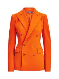 Ralph Lauren Collection - Camden Double Breasted Wool-Blend Jacket at Saks Fifth Avenue