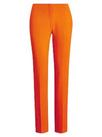 Ralph Lauren Collection - Simone Stretch-Wool Pants at Saks Fifth Avenue