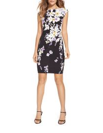 Ralph Lauren Floral Jersey Dress at Lord & Taylor