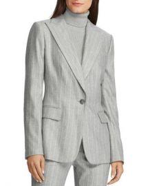 Ralph Lauren Lauren Ralph Lauren Pinstriped Blazer Women - Bloomingdale s at Bloomingdales