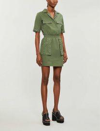 Ramil cotton-twill mini dress at Selfridges