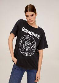 Ramones T-shirt at Mango