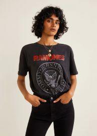 Ramones tshirt at Mango